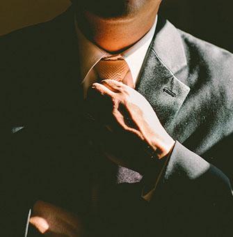 Krawatte Anzug Business Coaching